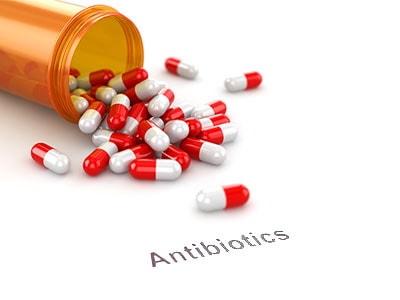antibiotics for step throat