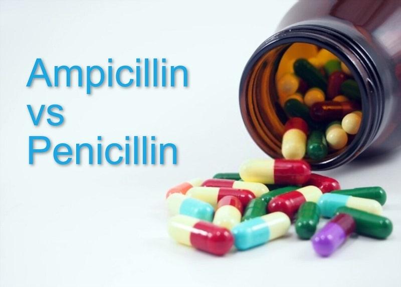 Ampicillin vs amoxicillin